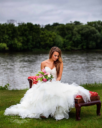 Elegant Bridal Portrait   Minnesota Wedding