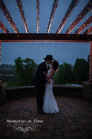 A Kiss in the Rain  MN Bride