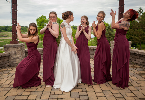 Horse and Hunt Club   Minneapolis Wedding Photography   Bridesmaids
