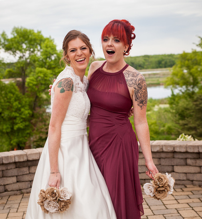 Horse and Hunt Club   Minneapolis Wedding Photography   Sharing a laugh