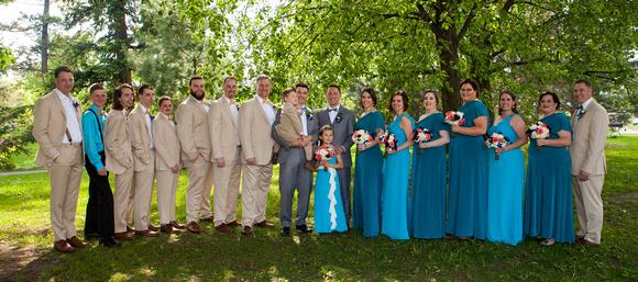 The Wedding Party   St. Paul Wedding Photographer