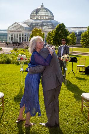 A Grandmother's Hug   St. Paul Wedding Photographer