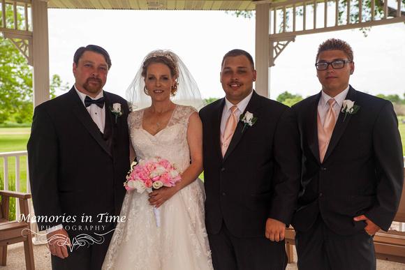 Minnesota Wedding Photographer    The Bride and her Men