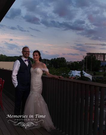 Minnesota Wedding Photographer   A Surly Brewing Company Wedding   Twilight