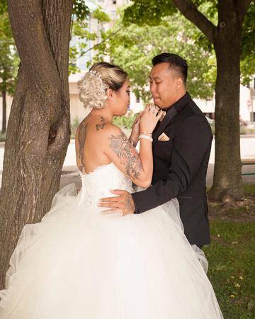 St. Paul Wedding Photographer   InterContinental Hotel   Love