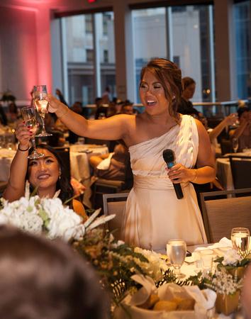St. Paul Wedding Photographer   InterContinental Hotel  Cheers