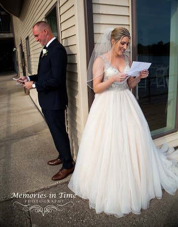 Minneapolis Wedding Photographer | Michigan Wedding Photographer | Letters