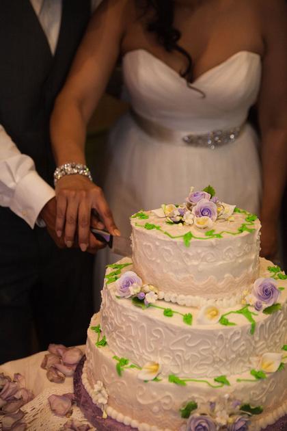 St. Paul Wedding Photographer | Cake Cutting