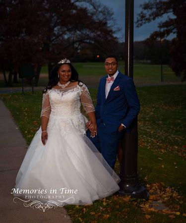 Minnesota Wedding Photographer | Shoreview Community Center | | A Bridal Couple