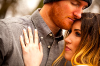 A Romantic Winter Engagement Session