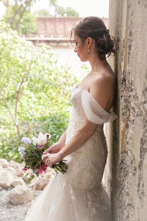 A beautiful formal Bridal Portrait
