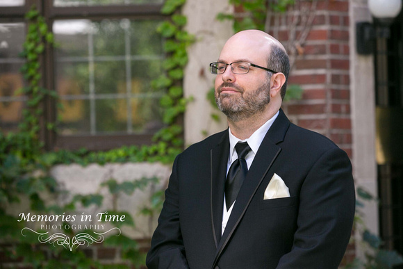 Anticipation | Groom in Waiting