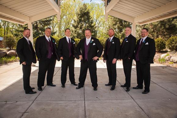 Sharp Dressed Men   Minneapolis Wedding Photographer