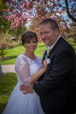 A Formal Wedding Portrait | Minnesota Wedding Photographer