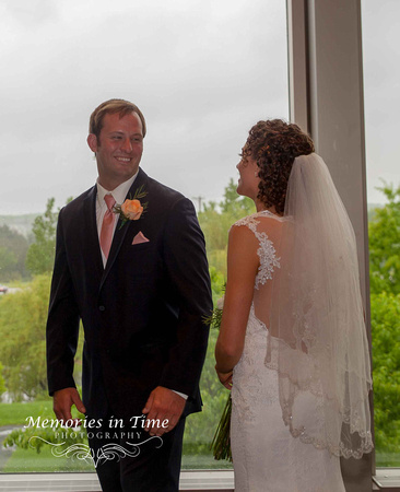 The First Look | Midwest Wedding Photographer