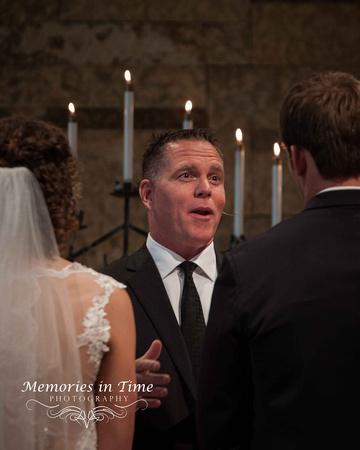 The Minister | Grace Church | Minneapolis Wedding Photographer