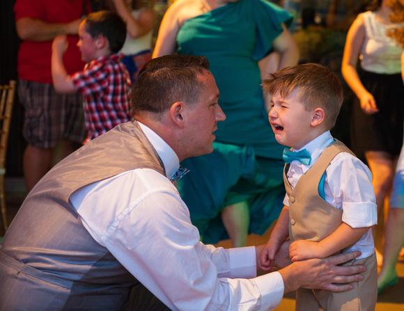 One tired Little Boy | St. Paul Wedding Photographer