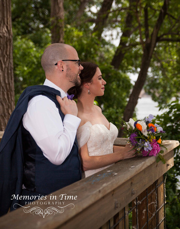 Minnesota Wedding Photographer | A Surly Brewing Company Wedding | Looking in the future