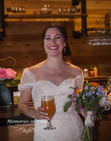 Minnesota Wedding Photographer | A Surly Brewing Company Wedding | Cheers!