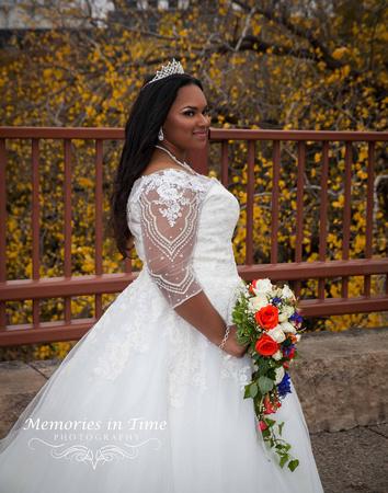 Minnesota Wedding Photographer | Shoreview Community Center | The Bride