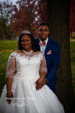 Minnesota Wedding Photographer | Shoreview Community Center | The Couple