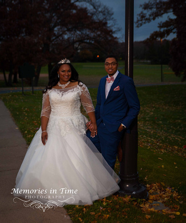 Minnesota Wedding Photographer | Shoreview Community Center | | A Bridal Couple