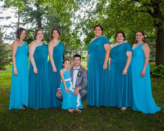 Bridesmaids | St. Paul Wedding Photographer
