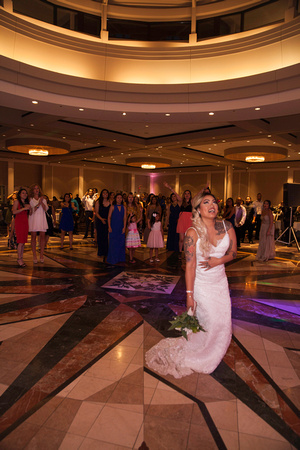 St. Paul Wedding Photographer | InterContinental Hotel | Bridal Bouquet