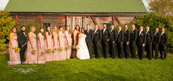A Rustic Wisconsin Wedding
