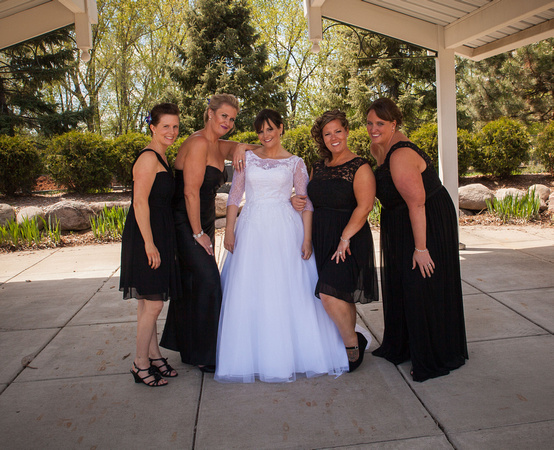 The Bride and her Ladies | MN Bride