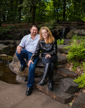 The Landscape Arboretum | Minnesota Engagement Photographer