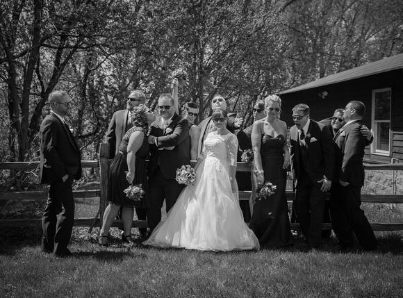 Having Fun | Bridal Party Portraits